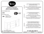 South Shore Furniture 4270690 Instructions / Assembly