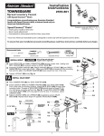 American Standard 2555.801.295 Installation Guide