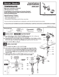 American Standard 2555.821.002 Installation Guide