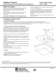 Aspects TPFW70050LWH Installation Guide