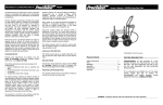 Precision HR250 Instructions / Assembly