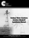 Outdoor Water Solutions PCW0090 Instructions / Assembly