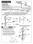 American Standard 4662.002.075 Installation Guide