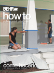 BEHR Premium Plus Ultra 485001 Instructions / Assembly