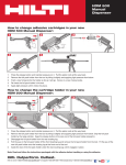 Hilti 3519785 Instructions / Assembly