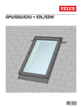 VELUX EDL UK08 0000 Installation Guide
