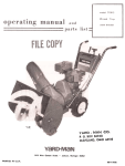 Yard-Man 7100-2 User's Manual