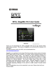 Yamaha M7CL User Guide