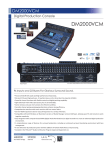 Yamaha DM2000VCM Data Sheet