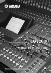 Yamaha DJ Equipment Digital Production Console User's Manual