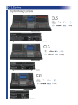 Yamaha CL5 Data Sheet