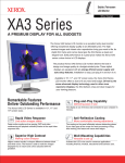Xerox XA3 Series User's Manual