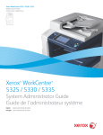 Xerox WorkCentre 5325/5330/5335 Administrator's Guide