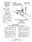 Worksaver HK-307 User's Manual