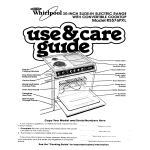 Whirlpool RS576PXL User's Manual