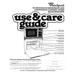 Whirlpool RM235PXK User's Manual