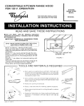 Whirlpool RH9330XL User's Manual