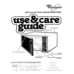 Whirlpool MW87OOXL User's Manual