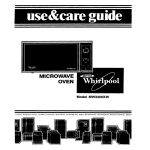 Whirlpool MW32OOXW User's Manual