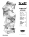 Whirlpool MHE13XH User's Manual