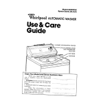 Whirlpool LB3000XK User's Manual