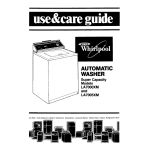Whirlpool LA7000XM User's Manual