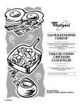 Whirlpool GLT3657 User's Manual