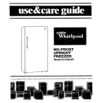 Whirlpool EVISHEXP User's Manual