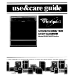 Whirlpool DU9700XT User's Manual
