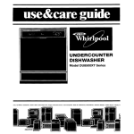 Whirlpool DU8500XT User's Manual