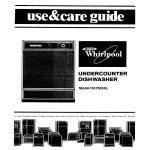 Whirlpool DU7503XL User's Manual
