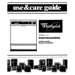 Whirlpool DU5040XP User's Manual