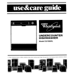 Whirlpool DU1098XL User's Manual