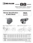 Weil-McLain RS User's Manual