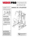 Weider WECCSY2983 User's Manual