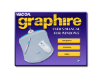 WACOM Graphire User's Manual