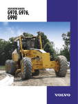 Volvo G976 User's Manual