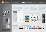 VIZIO HDTV30A VW37L User's Manual