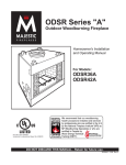 Vermont Casting ODSR42A User's Manual