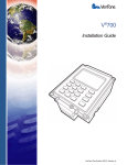 VeriFone Vx700 User's Manual
