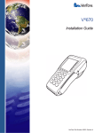 VeriFone Vx670 User's Manual