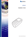 VeriFone DUET Vx810 User's Manual