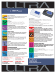 Ultra Products ULT31860 User's Manual