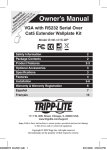 Tripp Lite B130-101S-WP User's Manual