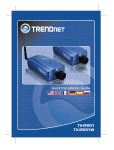 TRENDnet TV-IP201 User's Manual