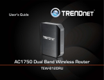 TRENDnet Tew-812dru User's Manual