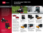 Toro Groundsmaster 7200 Accessory Guide