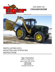 Tiger Products Co., Ltd 7X30 User's Manual