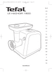 TEFAL ME71013E Instruction Manual