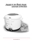 TEFAL FA700330 Instruction Manual